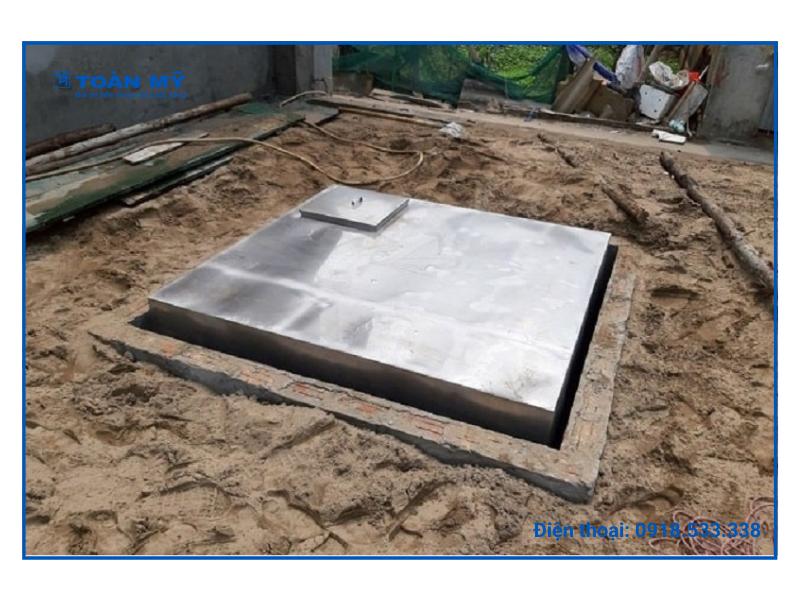 Lợi ích lắp đặt bồn nước âm dưới đất